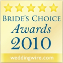 Wedding Wire Bride's Choice Award 2010